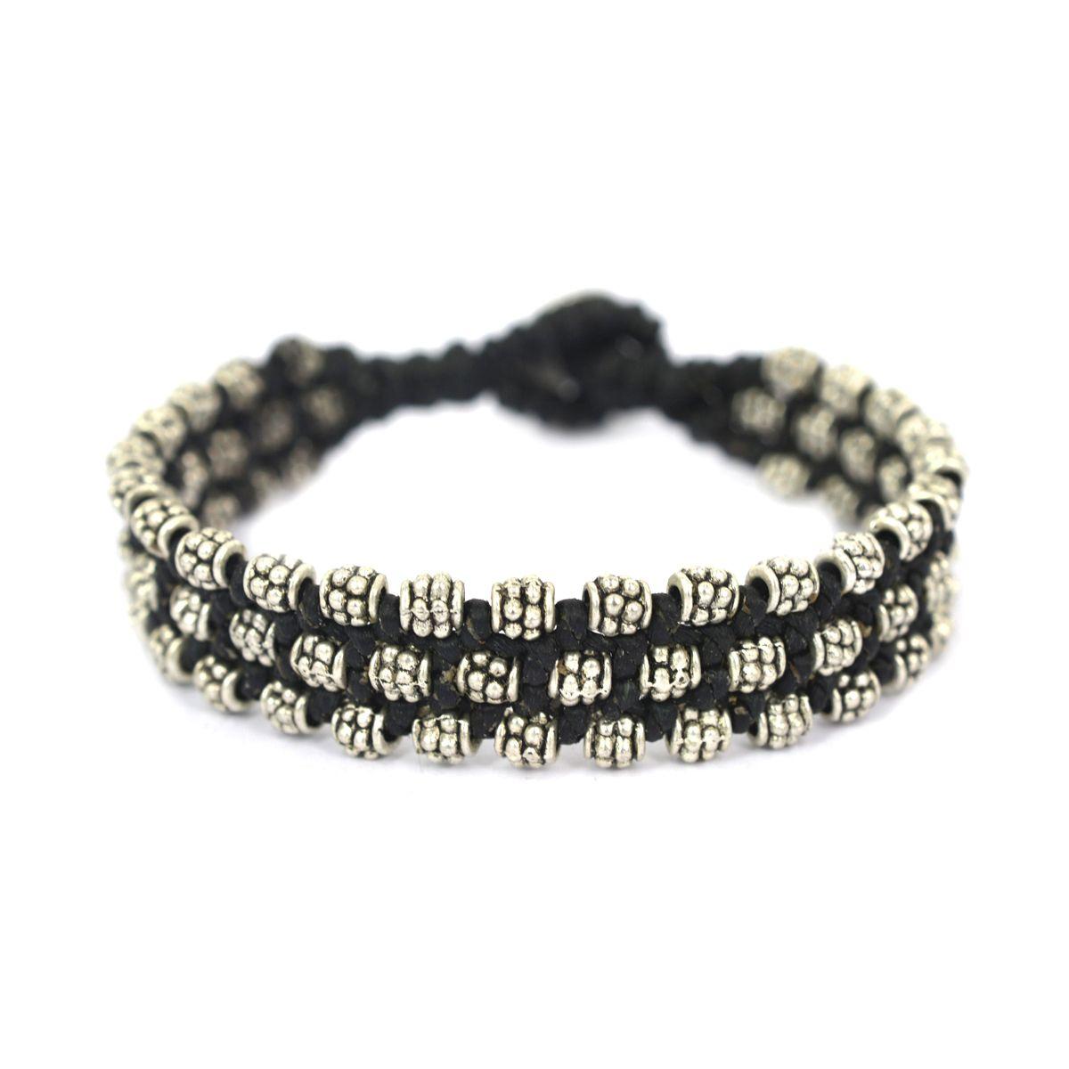 Band Silver Bracelet