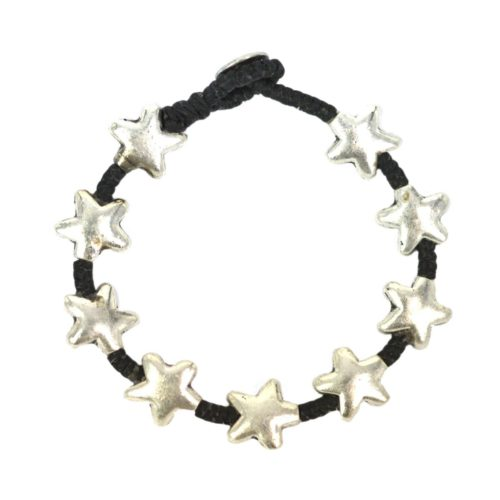 Full Metal Silver Bracelet Star