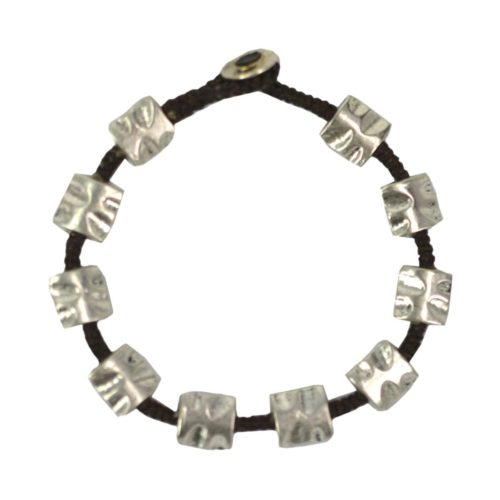 full metal bracelet square