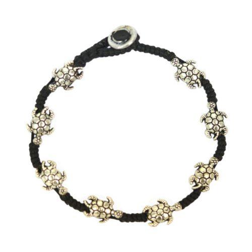 full metal bracelet turtle