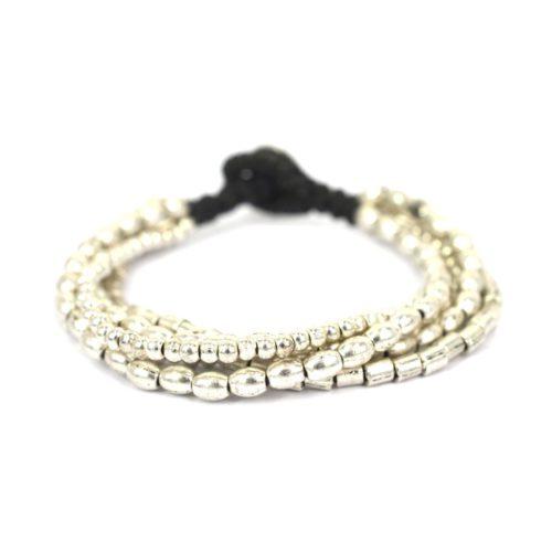 Multi String Silver Bracelet