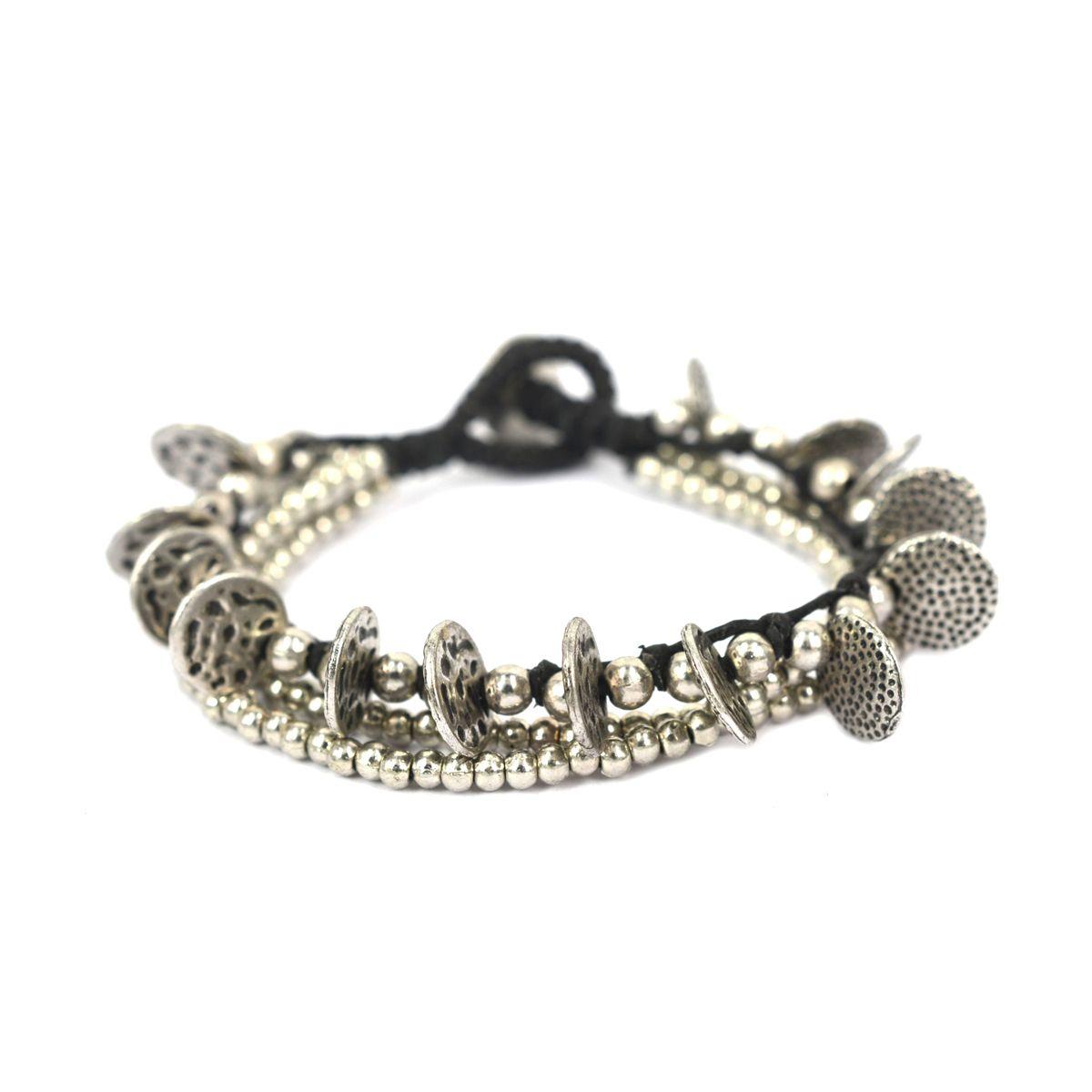 multi string full bracelet