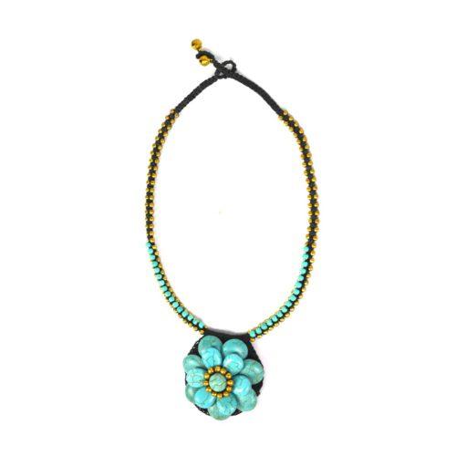 Stone Combi Necklace