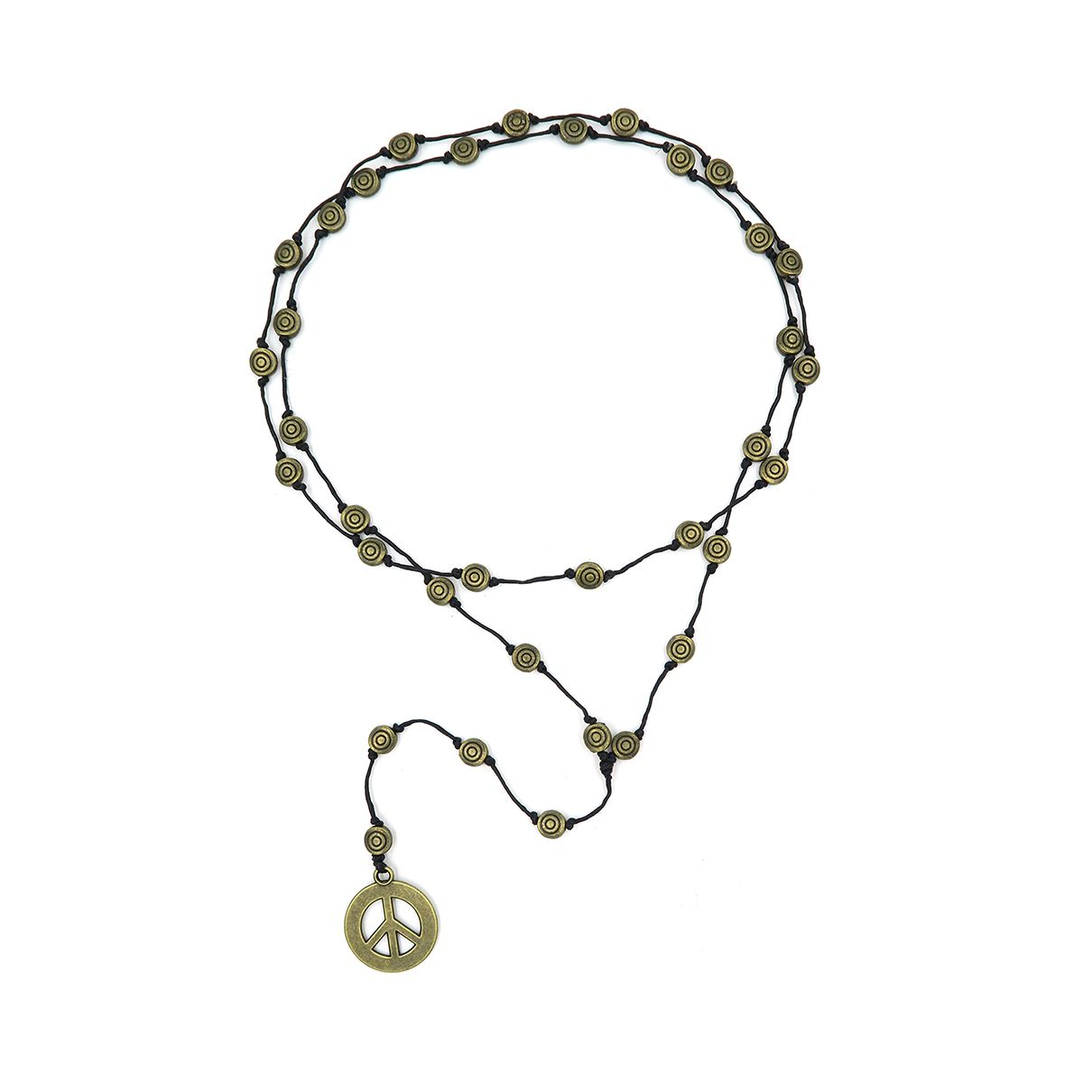 rosary necklace peace 0873732