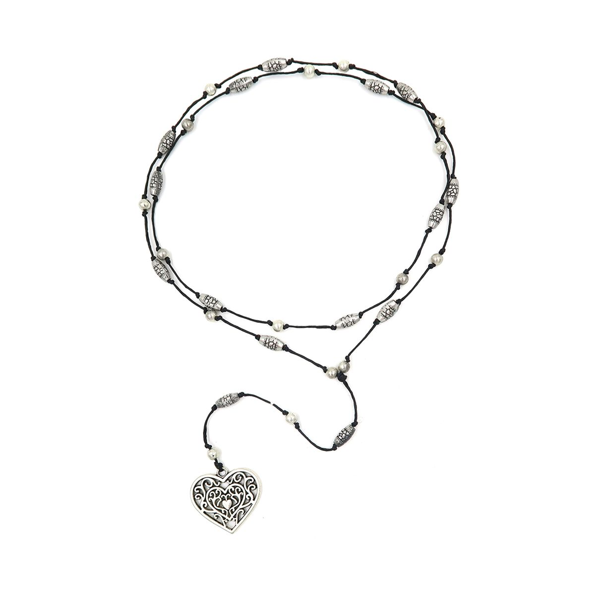 rosary necklace heart 08821341