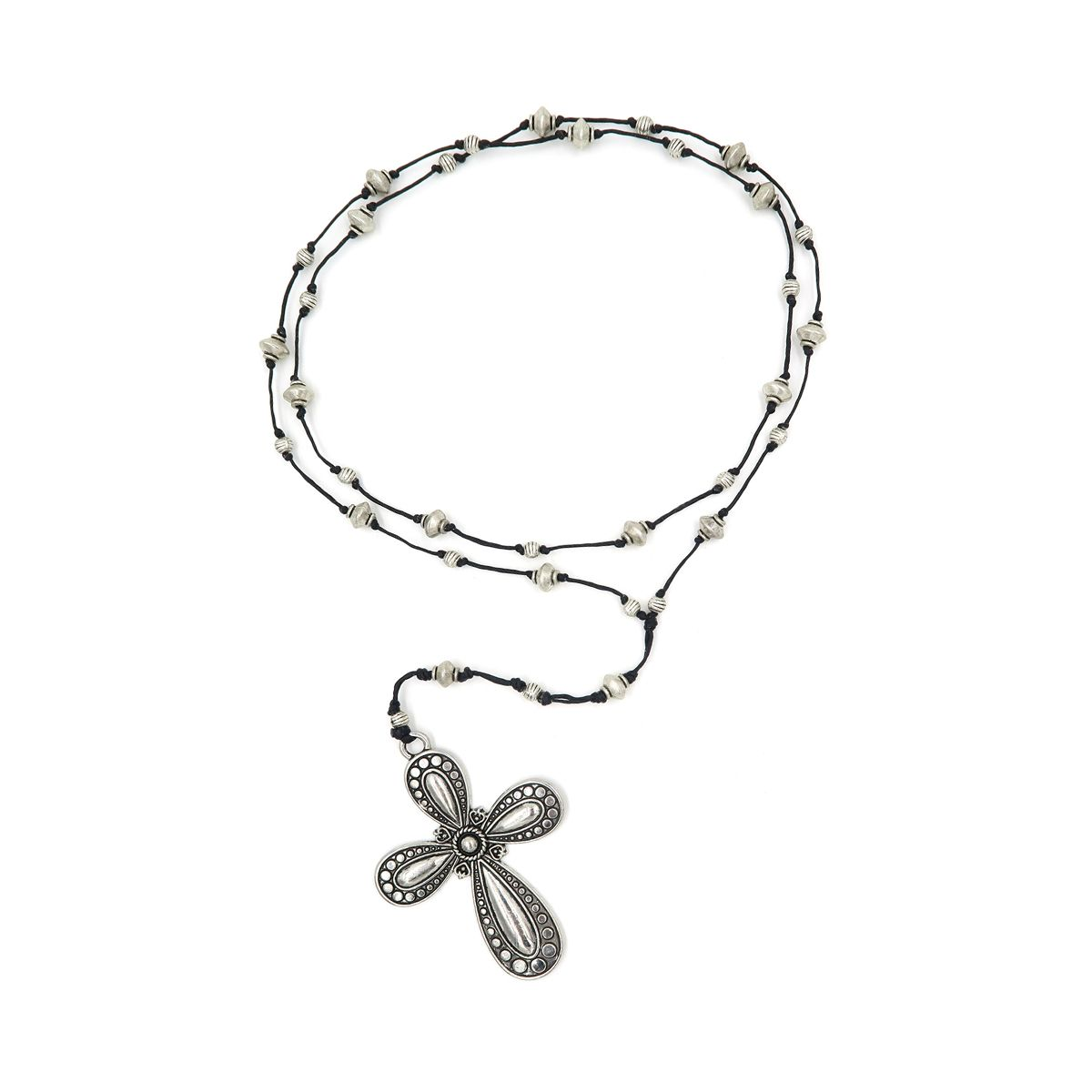 rosary necklace cross 08821352