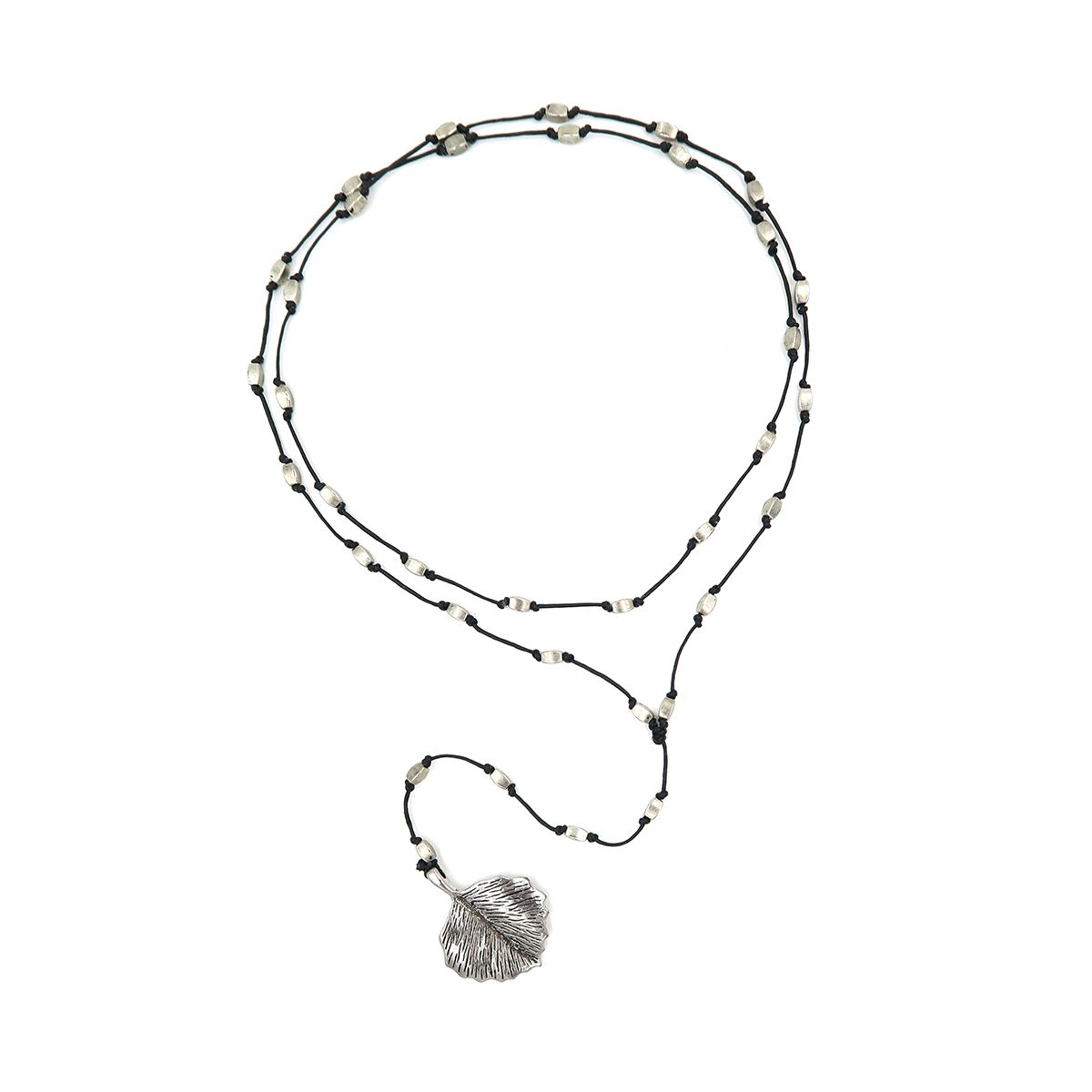 rosary necklace leaf 08821401