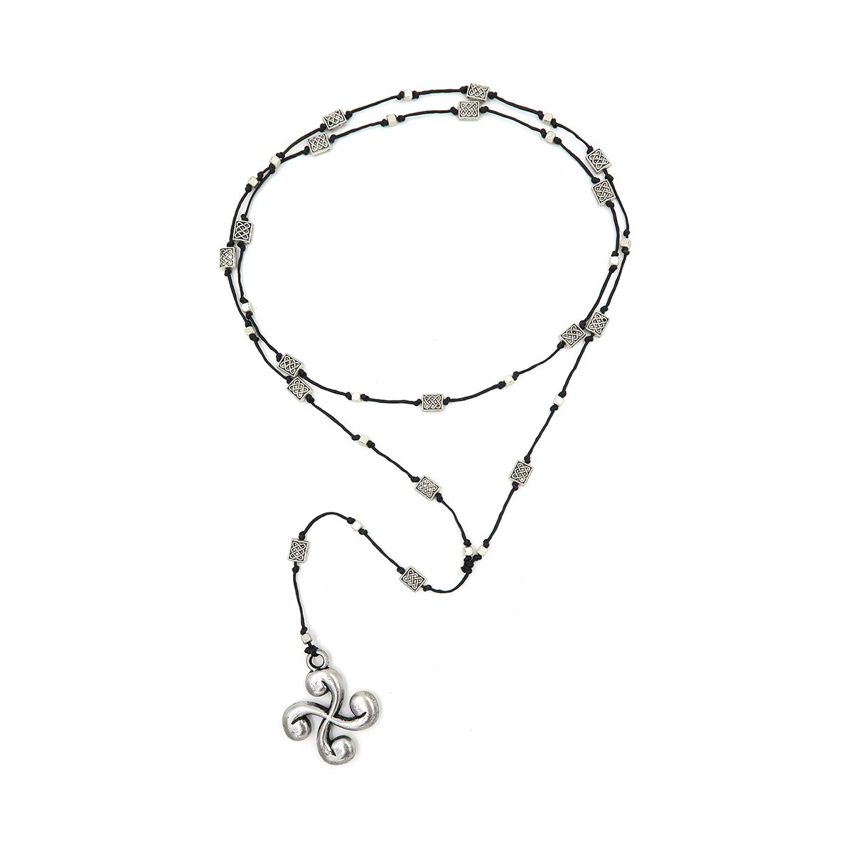 rosary necklace flower 08821423