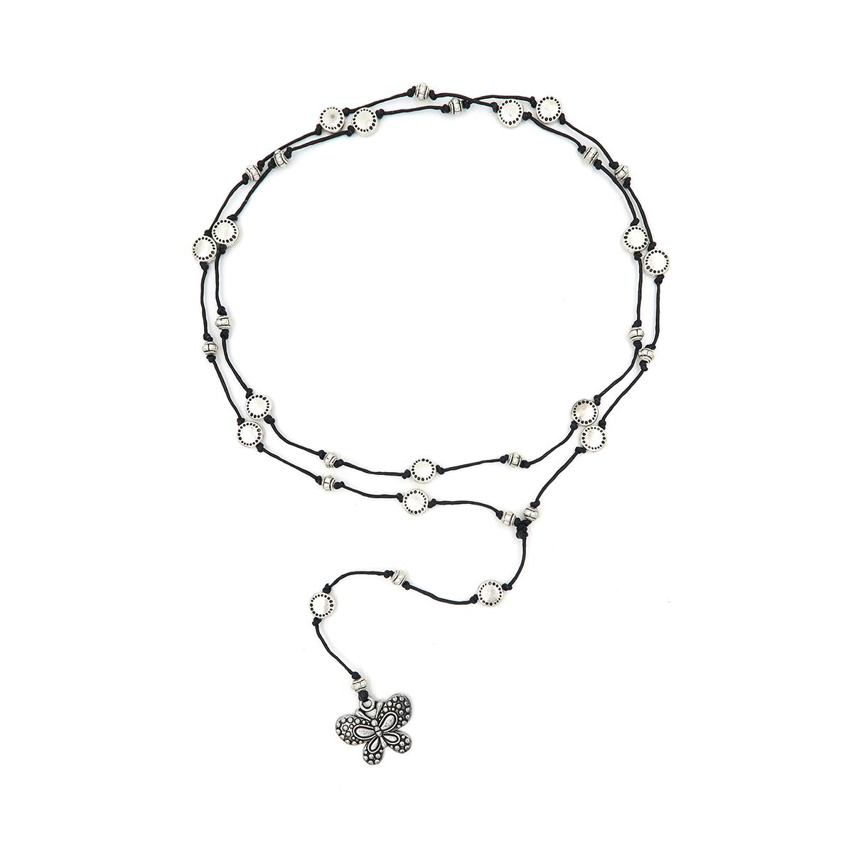 rosary necklace butterfly 08821431