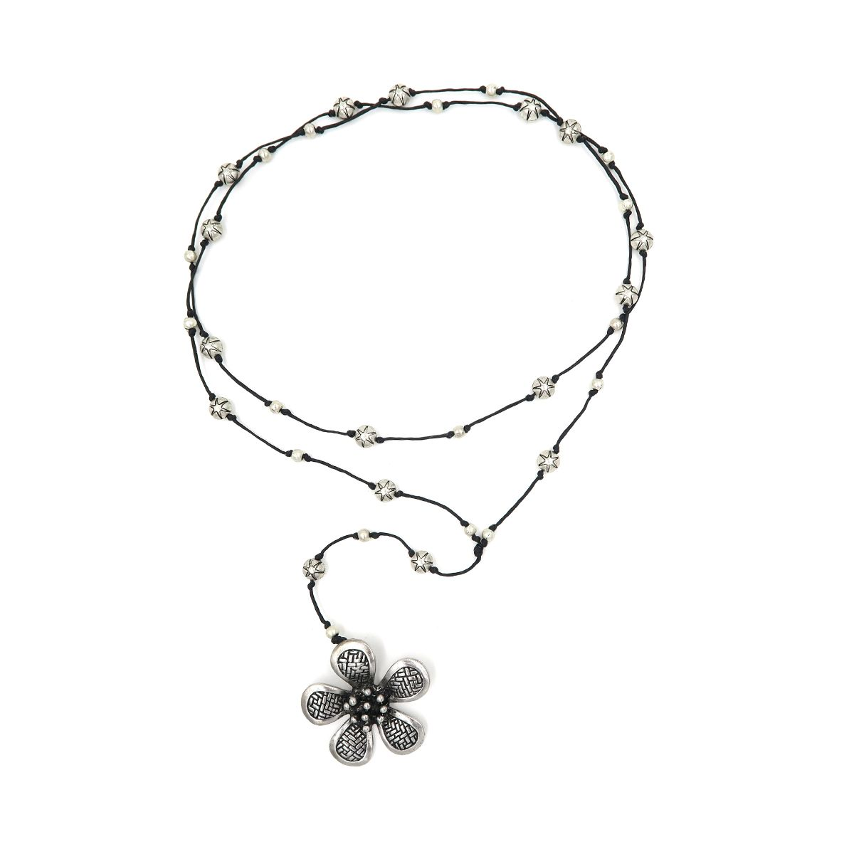 rosary necklace flower 08821448