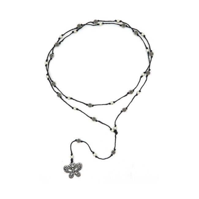 rosary necklace butterfly 08821472