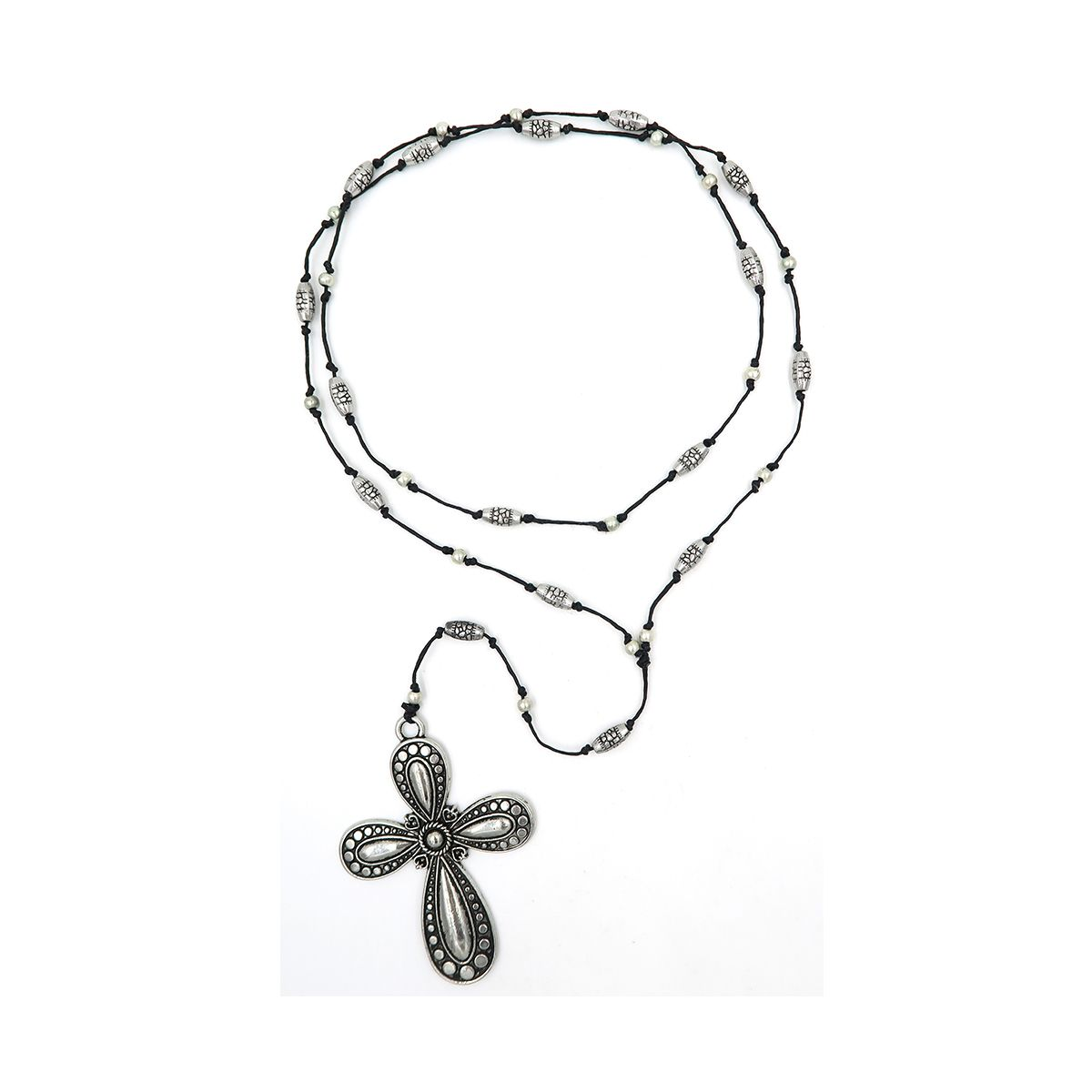rosary necklace cross 08821500