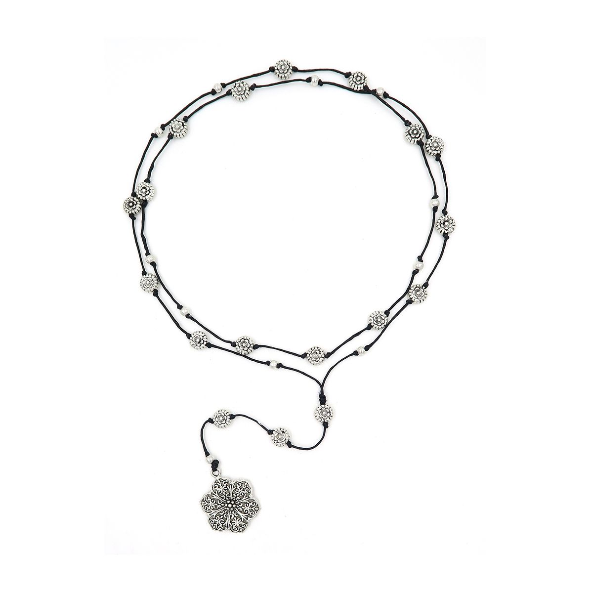 rosary necklace flower 08821653