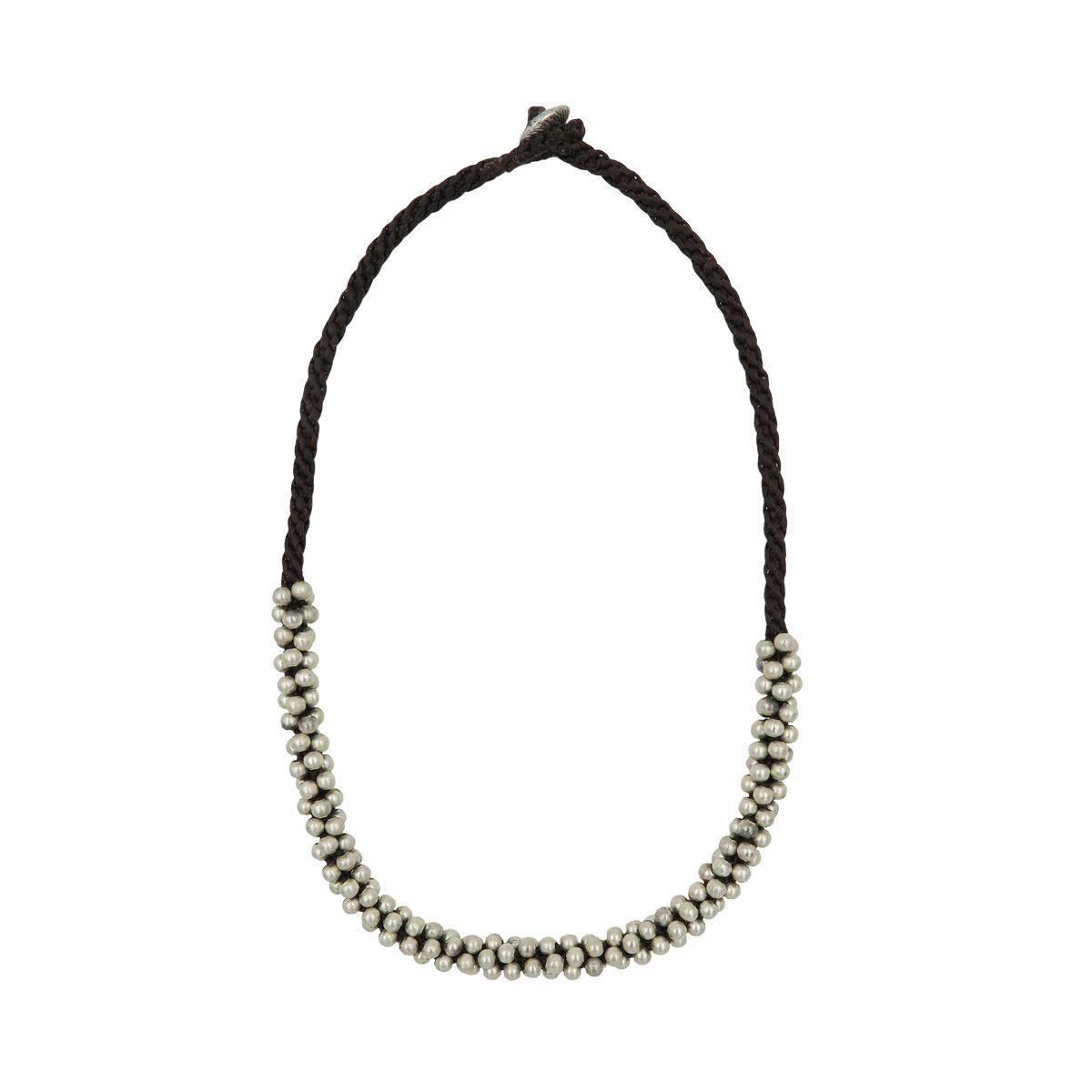 short necklace little balls 0882273