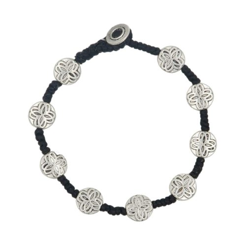 Full Metal Bracelet round Arabesque