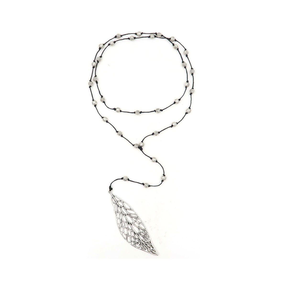 Boho Rosary Necklace