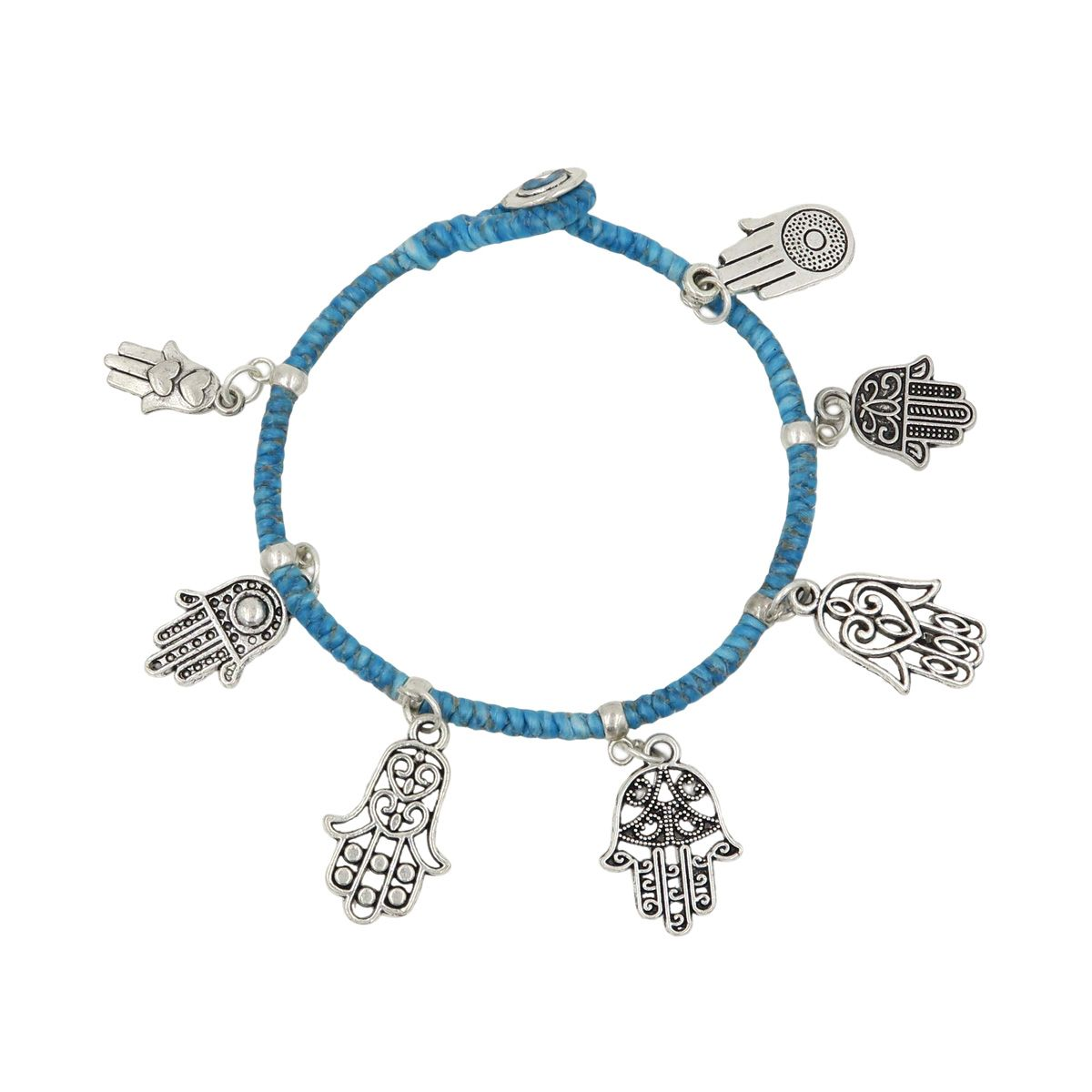 Fatima Hand Pendant Bracelet