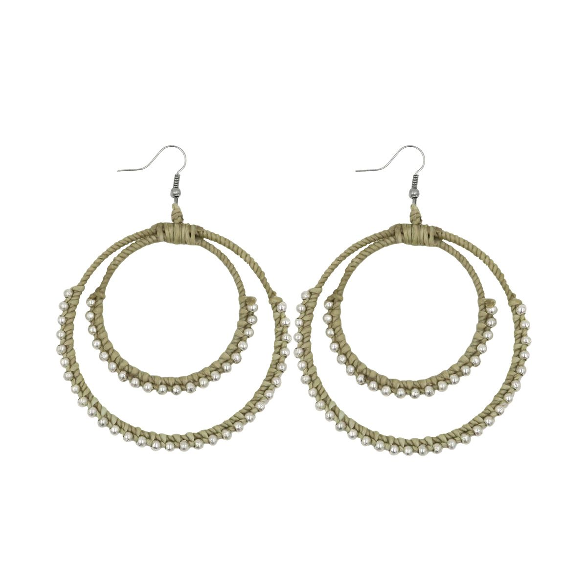 double round earring