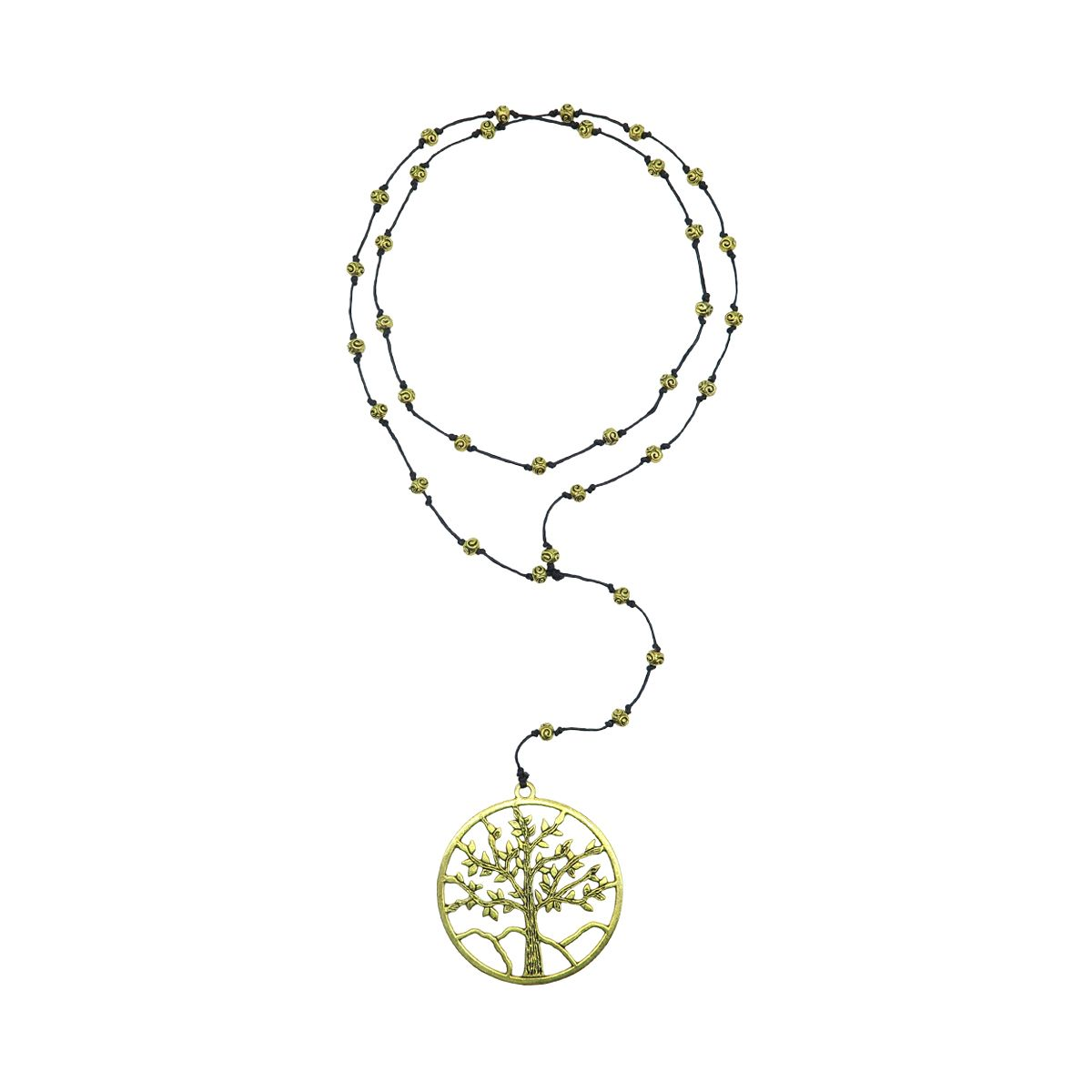 rosary necklace tree of life