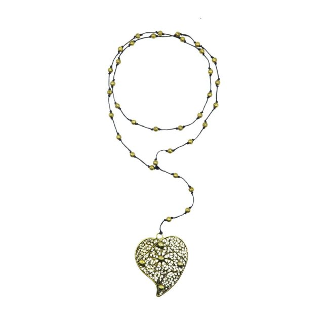 rosary necklace heart