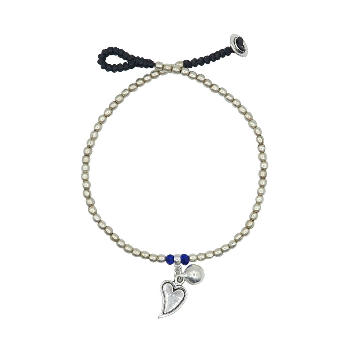 Made in Bali Anklet Heart