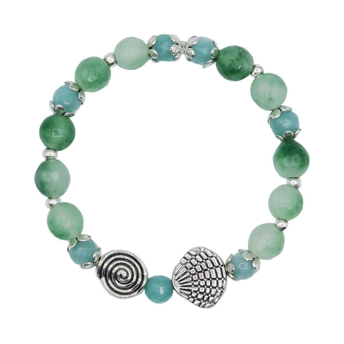 Agate Elastic Bracelet Made in Bali