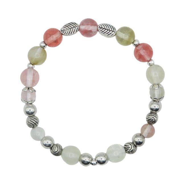 BOHO Agate Elastic Bracelet