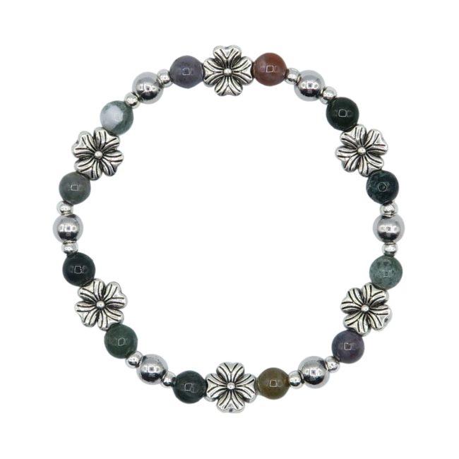 Agate Elastic Bracelet