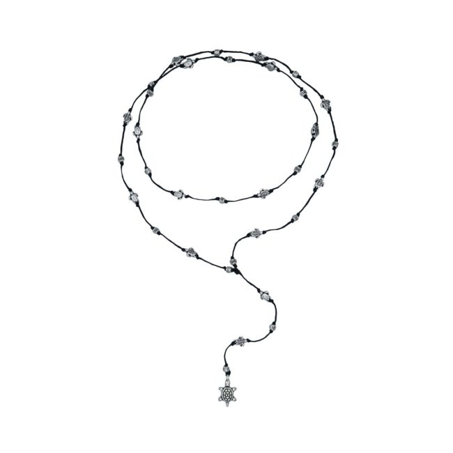 rosary necklace turtle