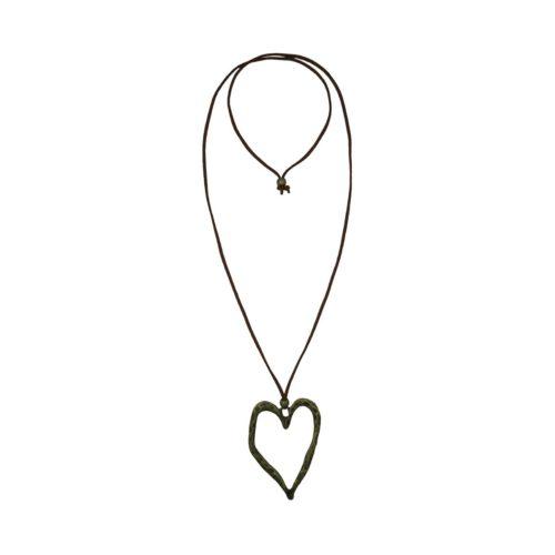 Heart Suede Necklace 08230150