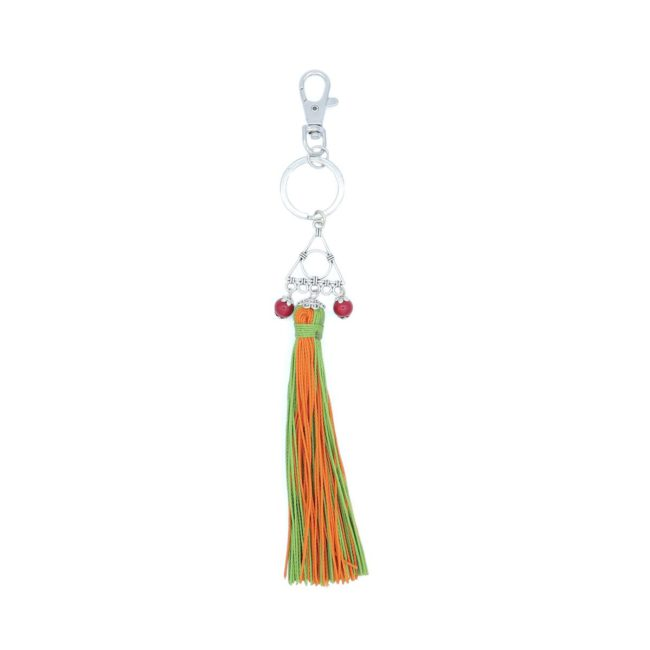 Abstract Tassel Keyring 03810007